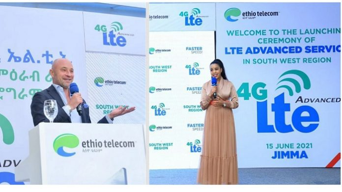 Ethio telecom and Ericsson launch 4G network for South West Ethiopia at major event in Jimma