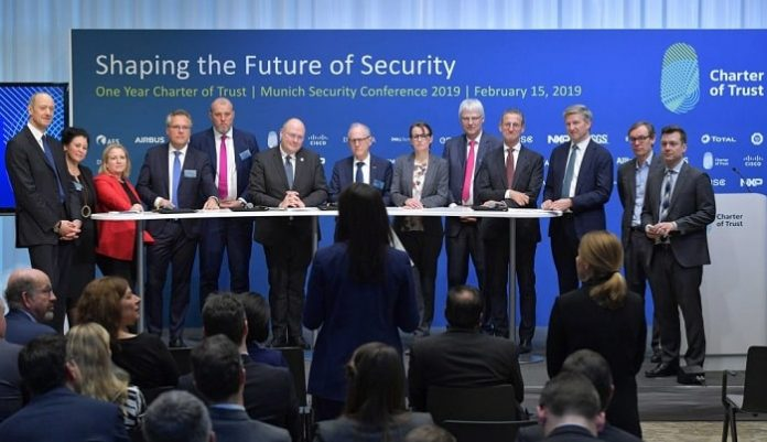 The Charter of Trust takes a major step forward to advance cybersecurity