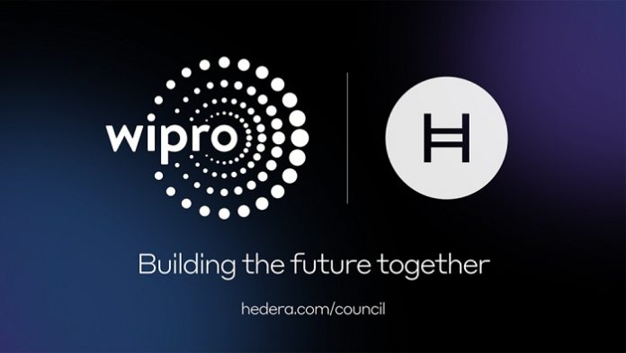 Wipro joins Hedera Governing Council to provide decentralized governance model for blockchain