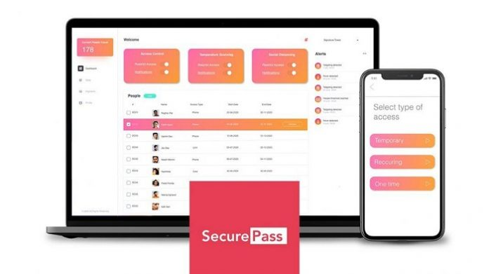 Singularity launches SecurePass - A single platform to contactless entry