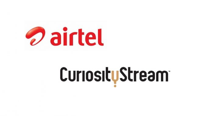 Airtel partners with CuriosityStream to bring award-winning factual entertainment to Indian customers