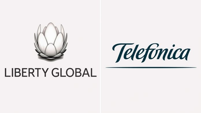 Liberty Global and Telefonica to merge their U.K. operations creating the leading fixed-mobile provider in the country